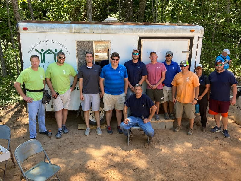 Engaged Community Partner   Making a difference with Habitat for Humanity