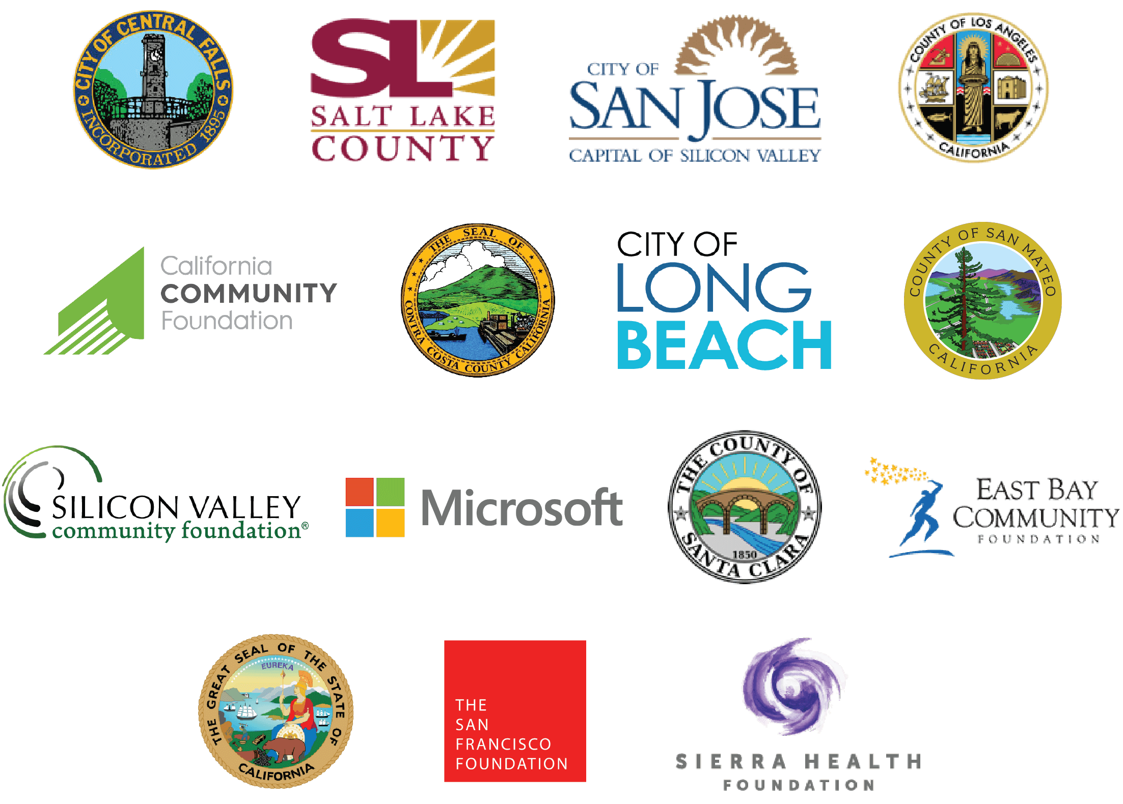our partners - governments, foundations, nonprofit organizations