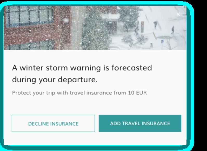 dynamic messaging weather alert