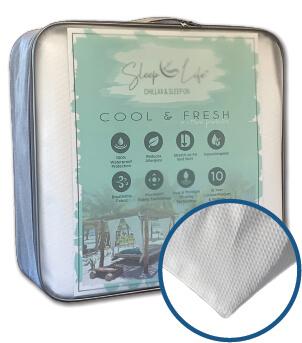 sleep life cool & fresh mattress protector