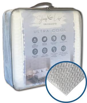 sleep life ultra cool mattress protector