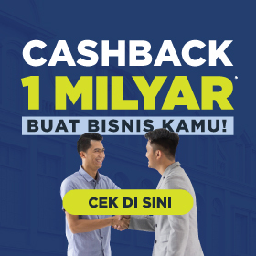 Cashback 1 Milyar
