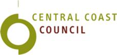 Central Coast Council logo.