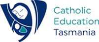 Catholic Education Tasmania logo.