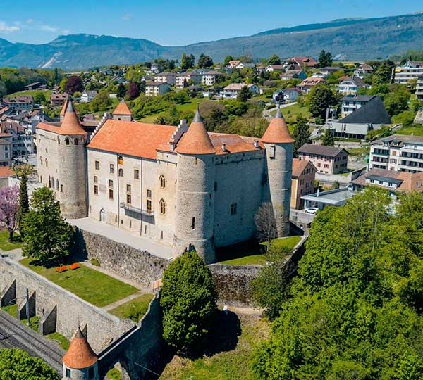 château de grandson Hotel region Yverdon-les-bains