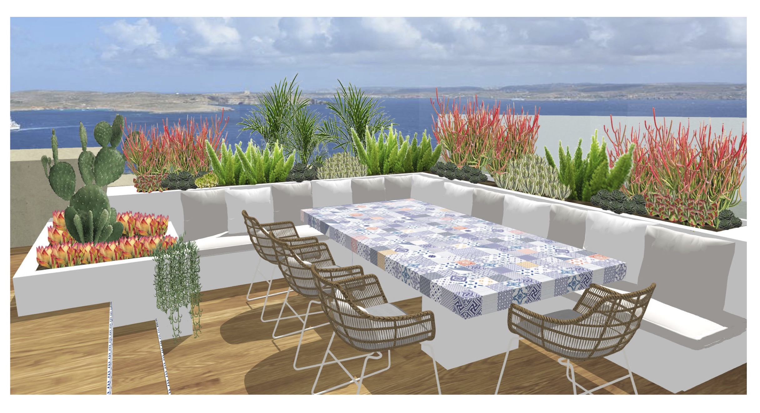The Island Roof terrace