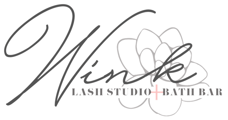 Wink Lash Studio + Bath Bar Logo