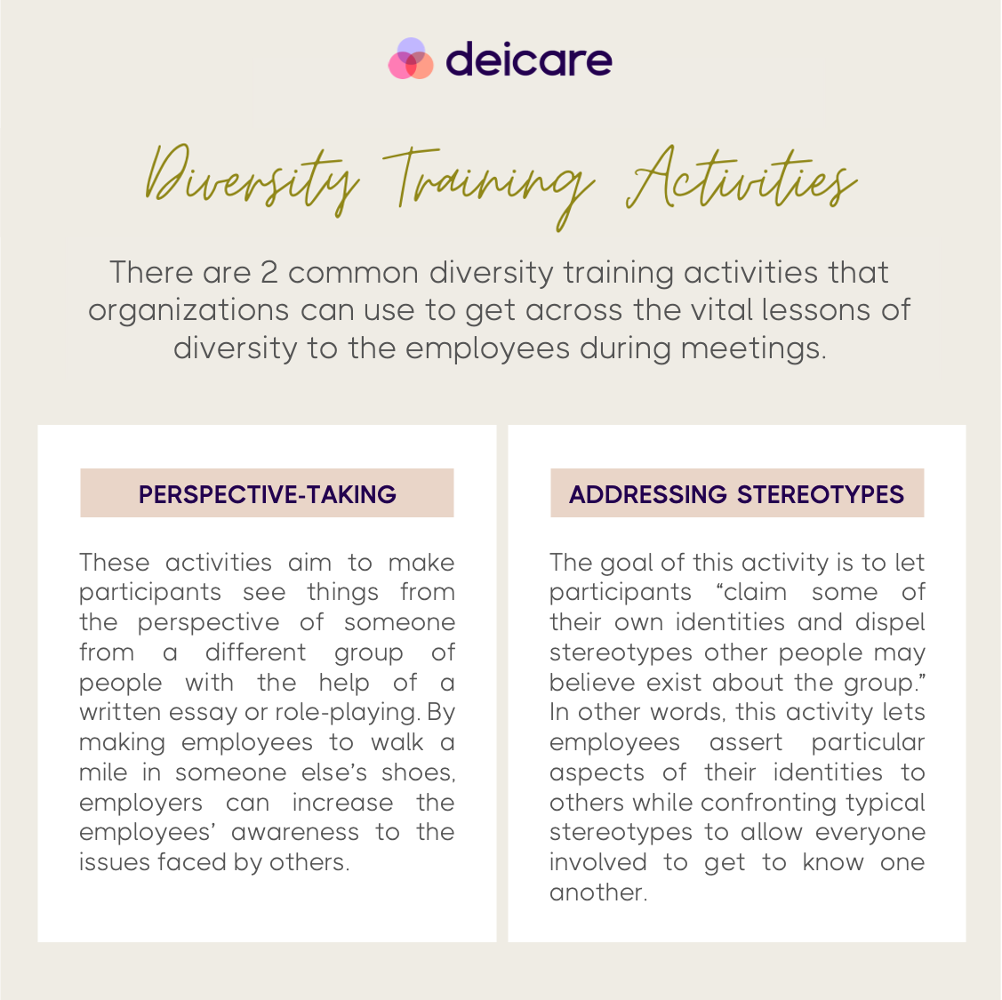 tips to create effective diversity training in the workplace