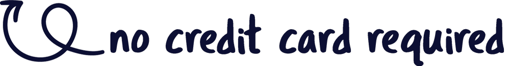 No credit card required arrow