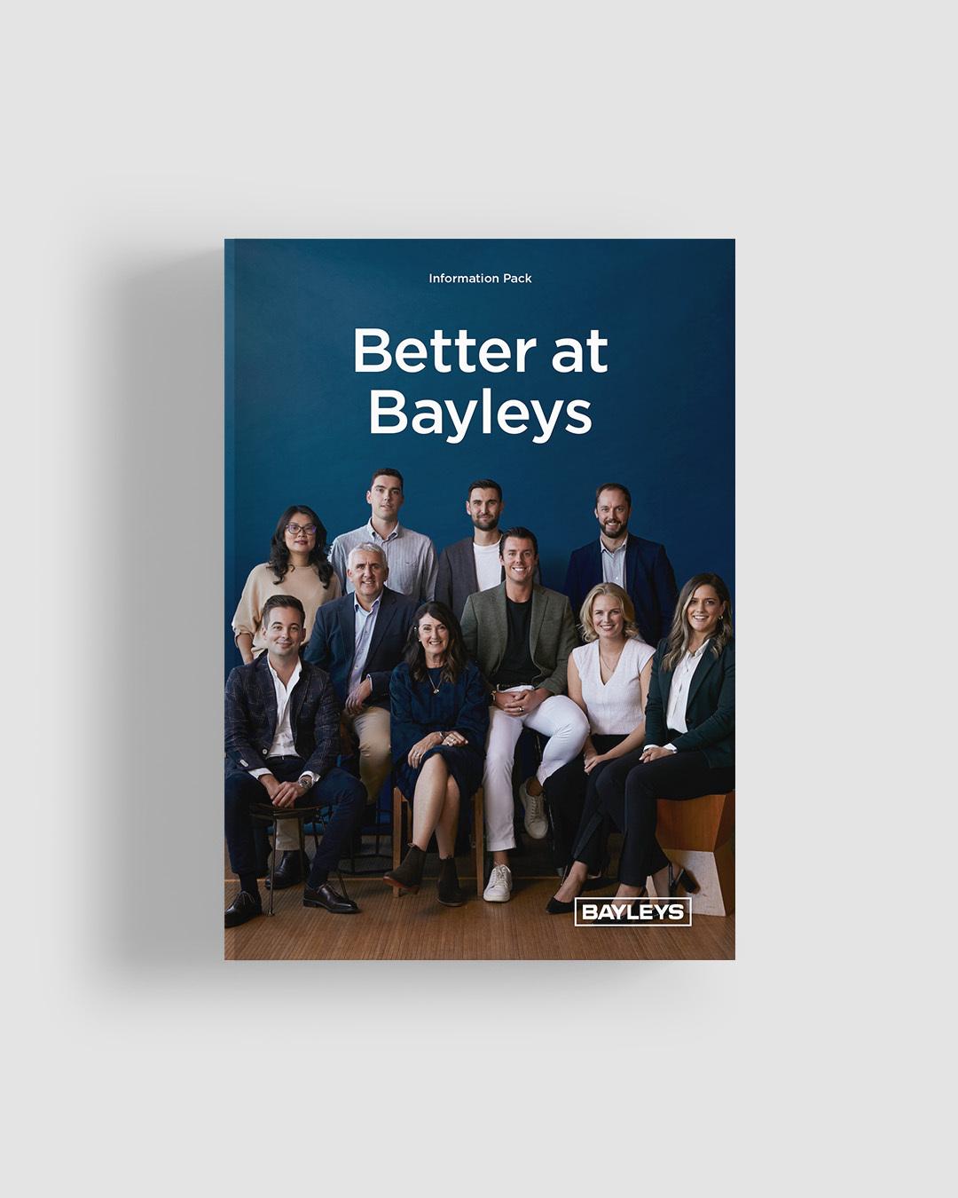 Better at Bayleys information PDF pack.