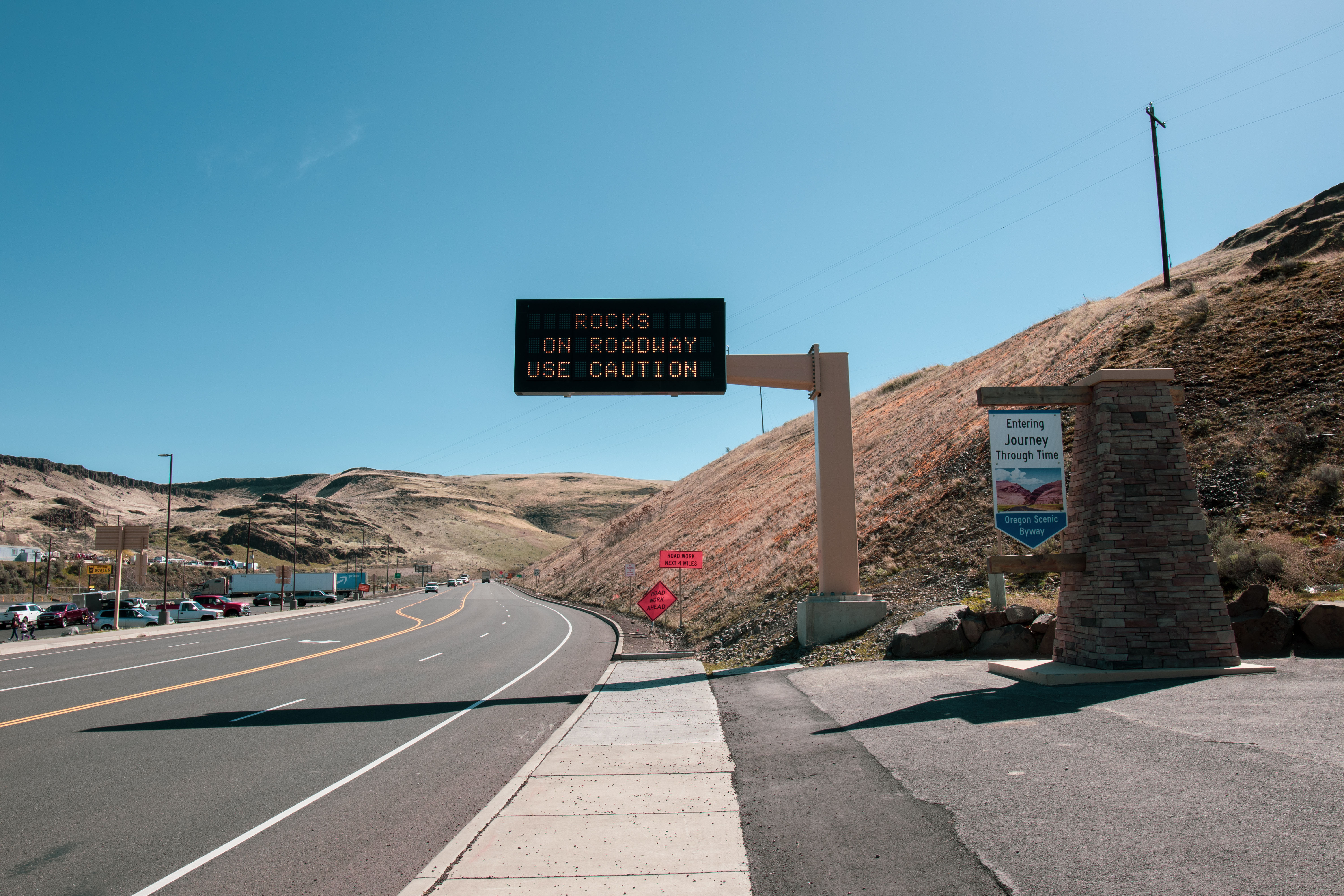 Variable message signage is becoming increasingly important for helping keep the public safe. We're ready with the proper equipment and expertise to make sure that public messages are broadcasted effectively along major highways in our region.