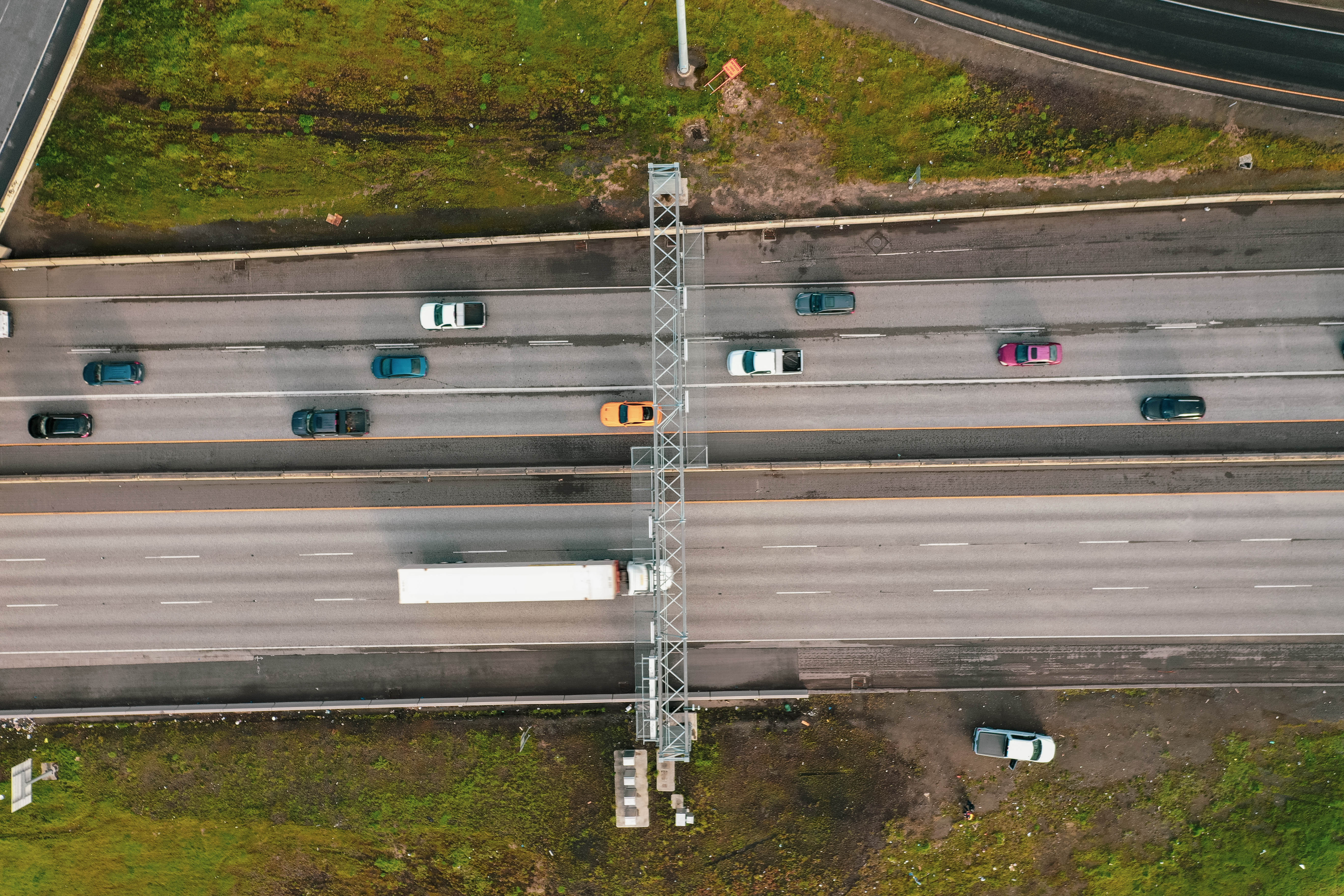 We don't just wire and illuminate traffic structures, we assemble the structures and crane them in place on major highways. If you have a high traffic, challenging site that needs highway communication improvement, you've come to the right place.
