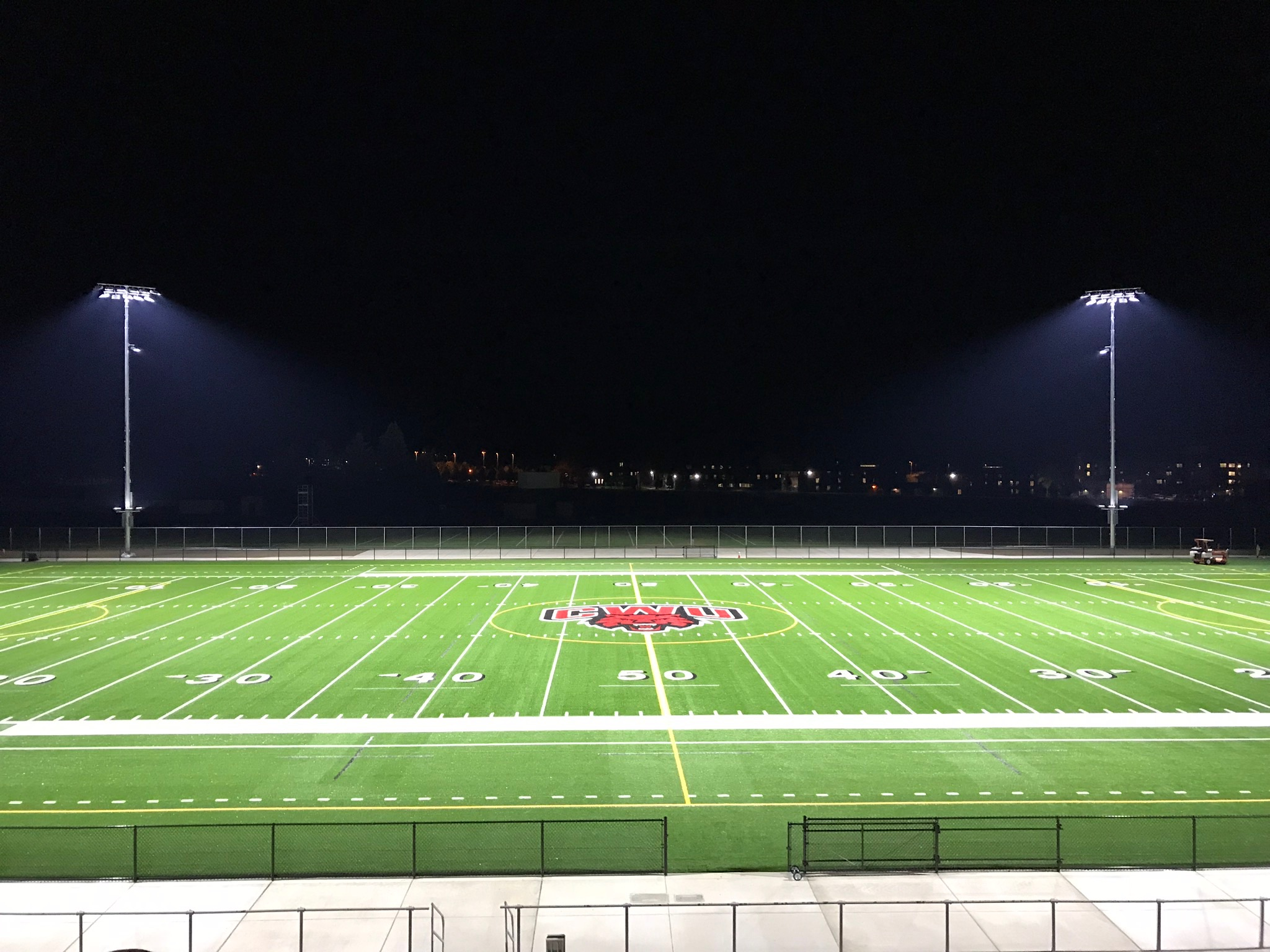 Whether it's new construction or upgrading an existing facility, get our team on your team's sports field, and we'll make sure that everyone will see the game clear as day.