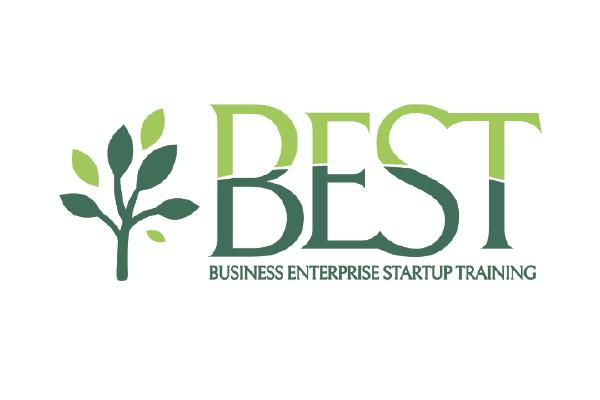 The  logo for the Business Enterprise Startup Training program