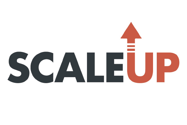 The logo for the Scale Up program