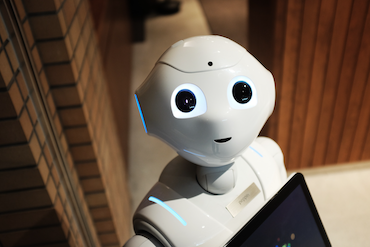 Friendly programming robot