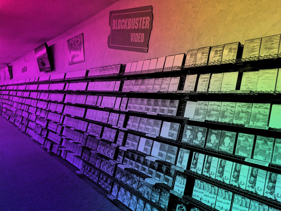 Blockbuster Store Inside
