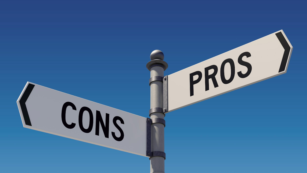 pros and cons directions