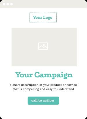 Landing page showing different content placements as part of Nimble Digital's web design services.