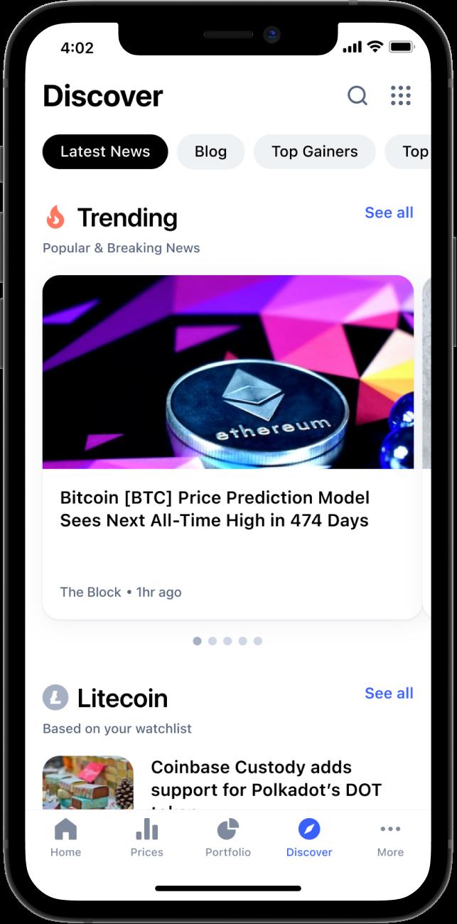 bitcoin coinmarketcap app