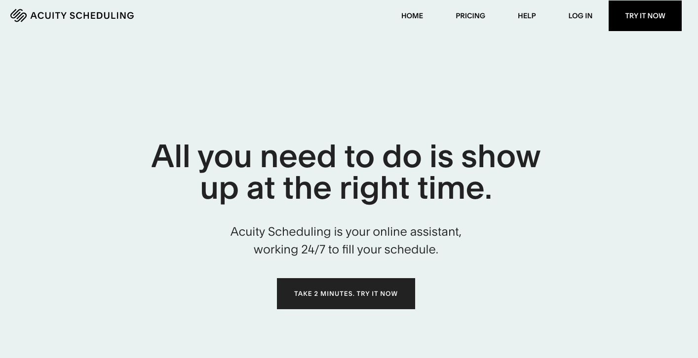 Online tool that helps coaches schedule appointments and manage their calendars