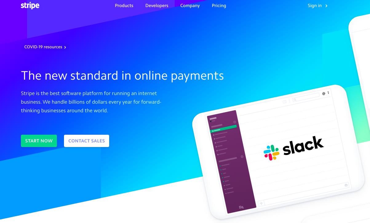 Stripe software platform