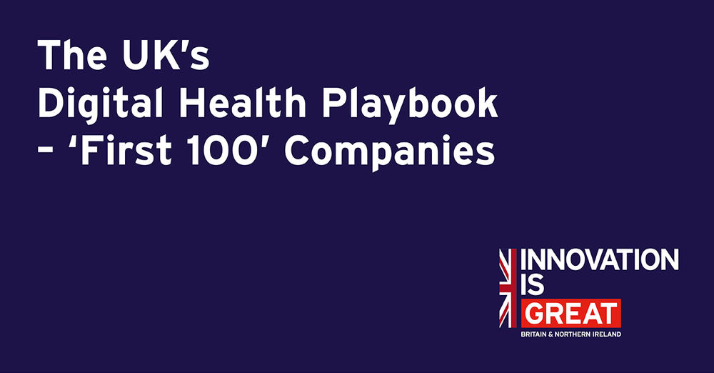 "DDM selected by Healthcare UK as one of the ""First 100"" Digital Health Companies"
