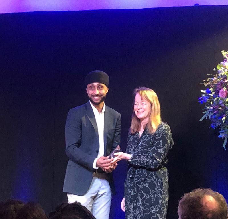 Arjun Panesar recognised as an Emerging Alumni Leader at the Imperial Alumni Awards