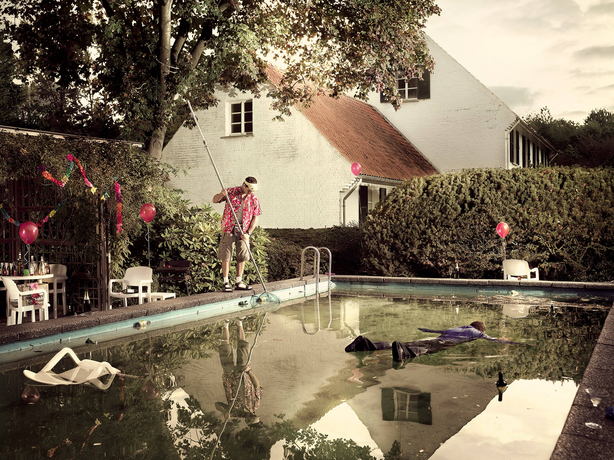 Pool Afterparty by Geert de Taeye