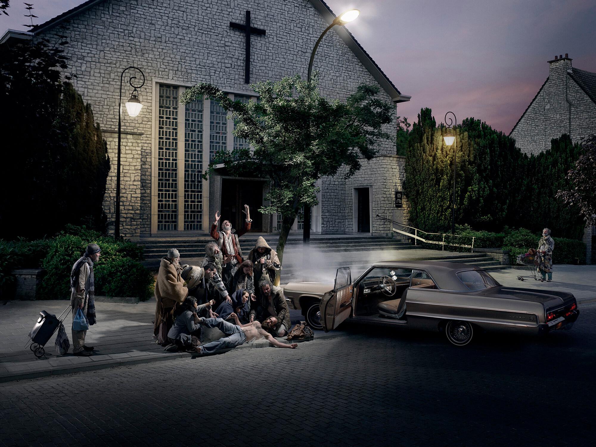 Crucifixion by Geert de Taeye