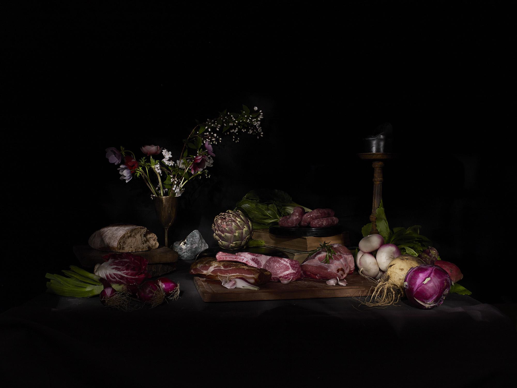 Savory Feast by Geert de Taeye