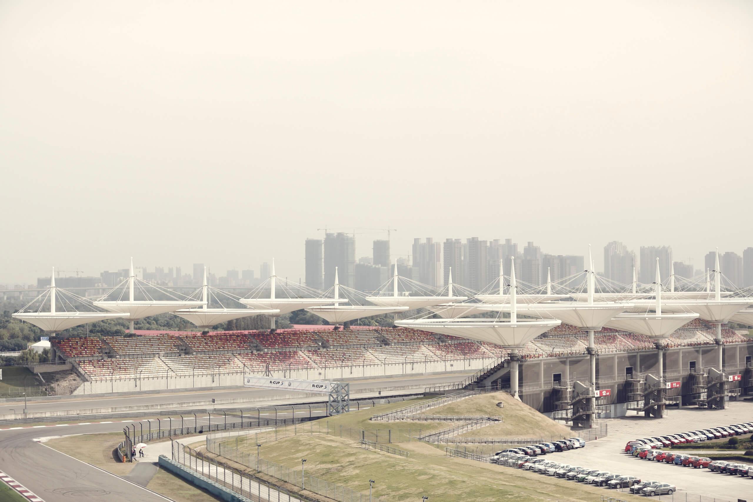 Shanghai Audi by Jan van Endert