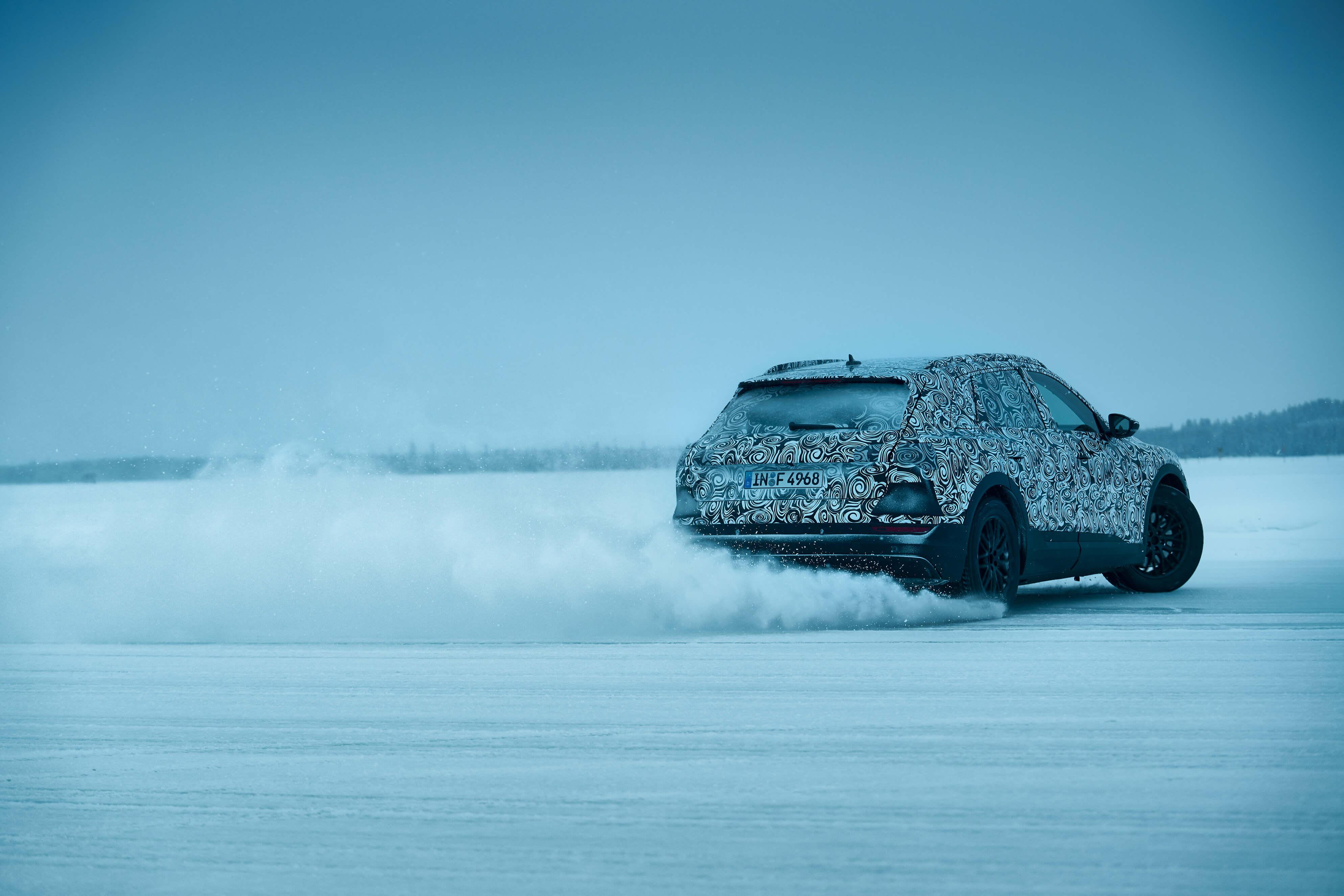 Audi Etron Lapland by Jan van Endert