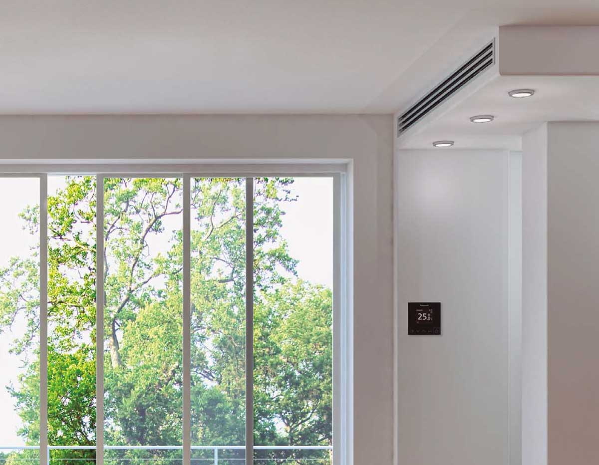 air conditioner installed in lovelyhouse