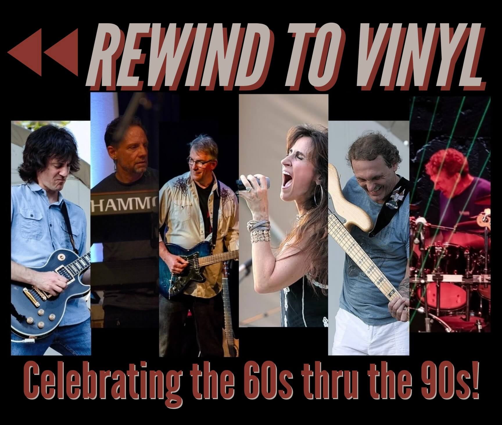 Rewind To Vinyl - Celebrating the Hits of the 60s - 90s! PUMPKINFEST!