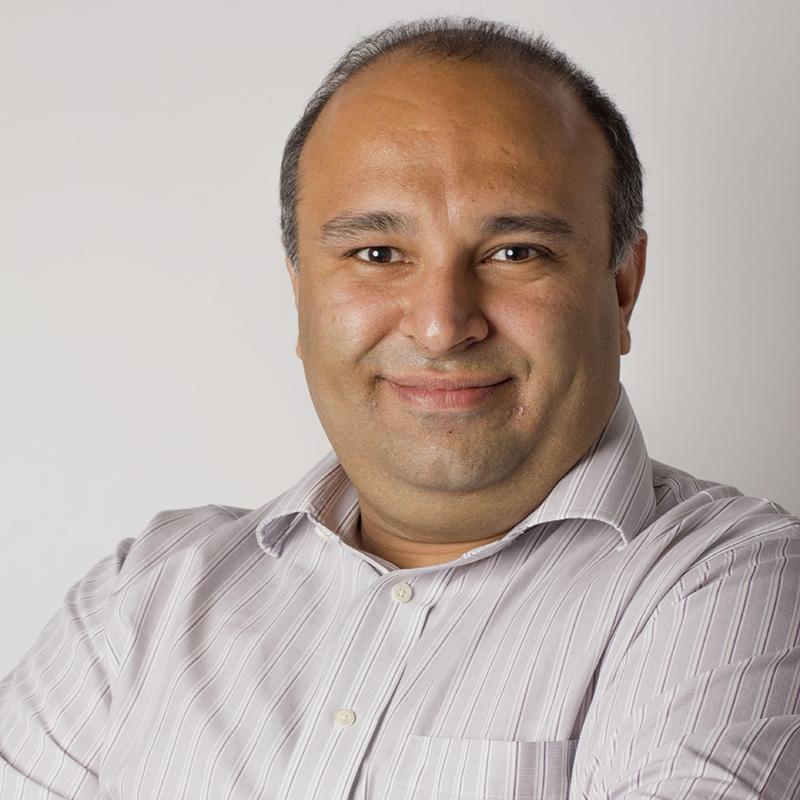 Portrait of Rayid Ghani