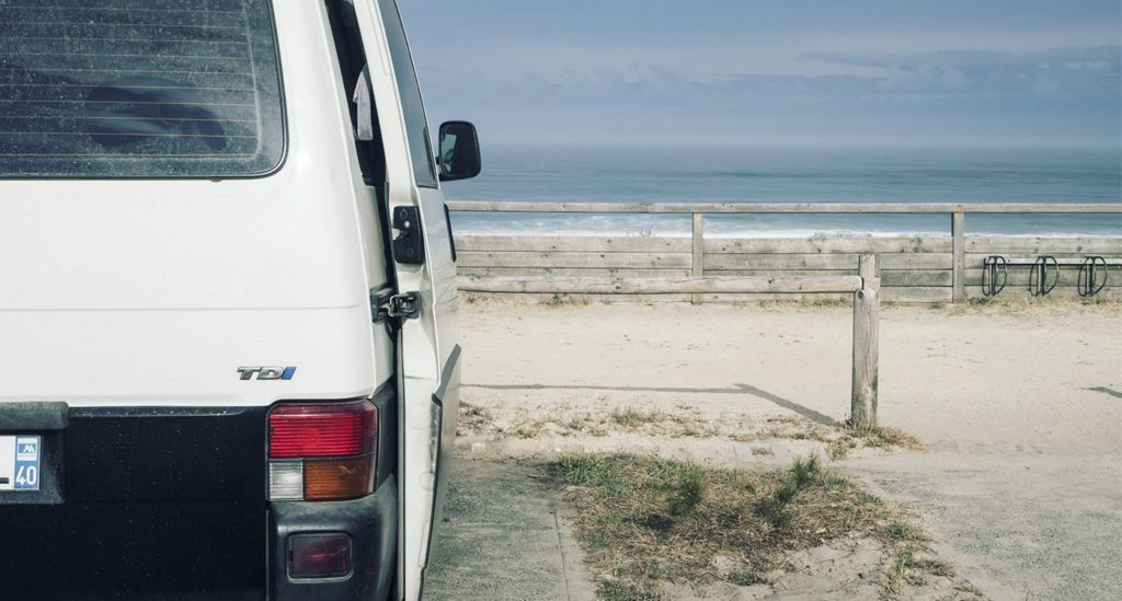 Stephan and Simon's van