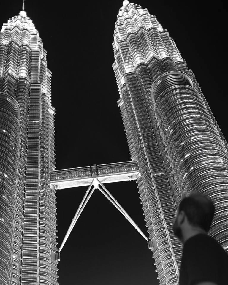 Matthew Esterhuizen in Kuala Lumpur