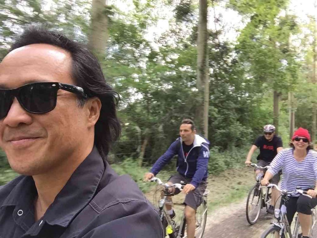 Balsamiq Team Retreat Cycling