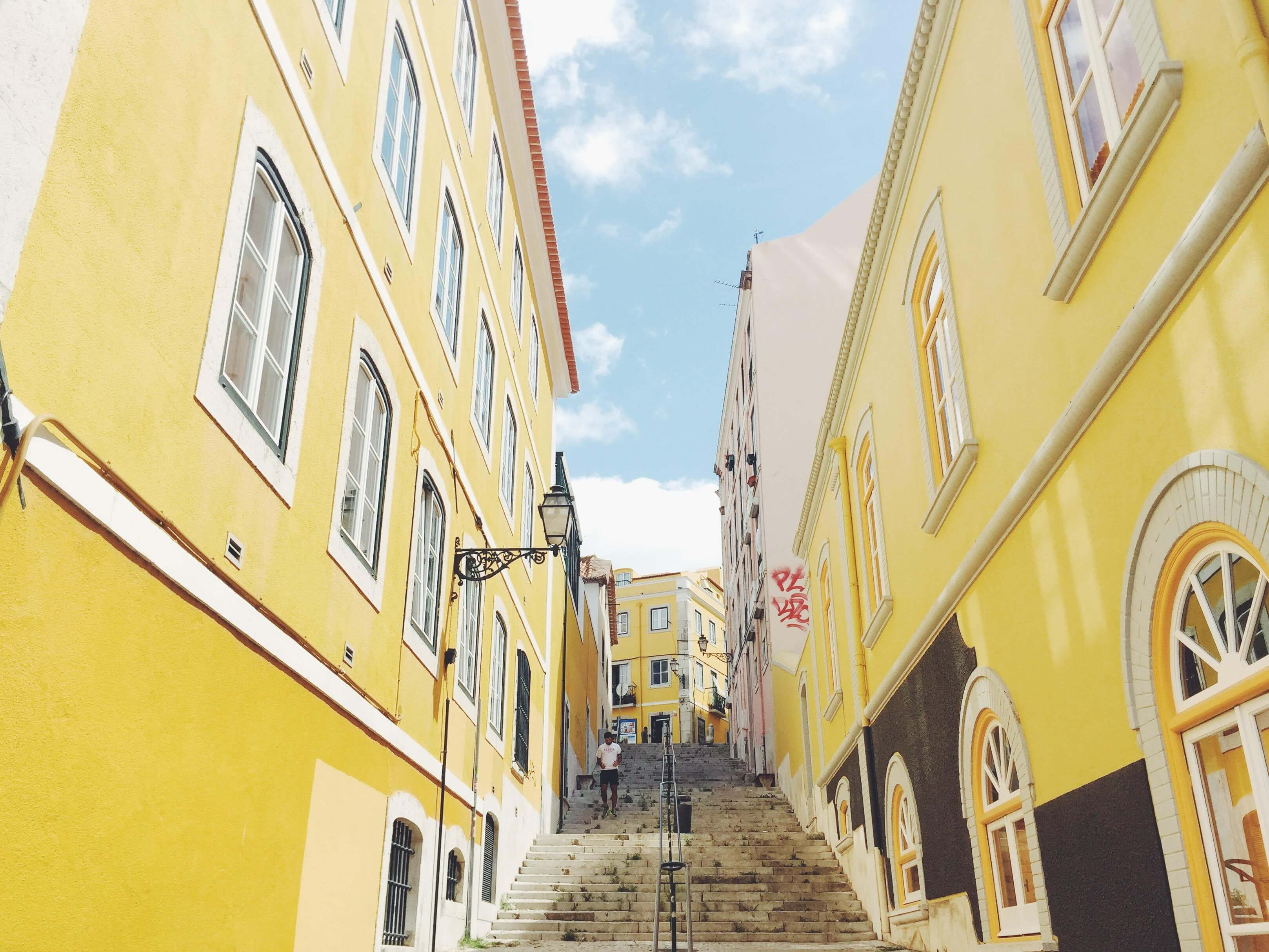 Lisbon by the eyes of Andreea