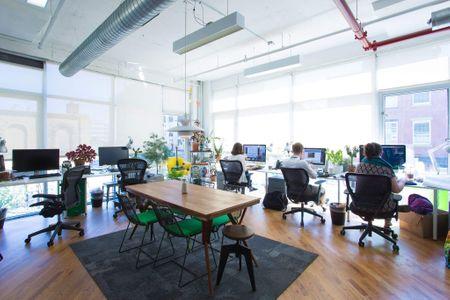 Greendesk - coworking space in Brooklyn, New York city