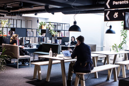 Impact Hub - coworking space in Stockholm, Sweden