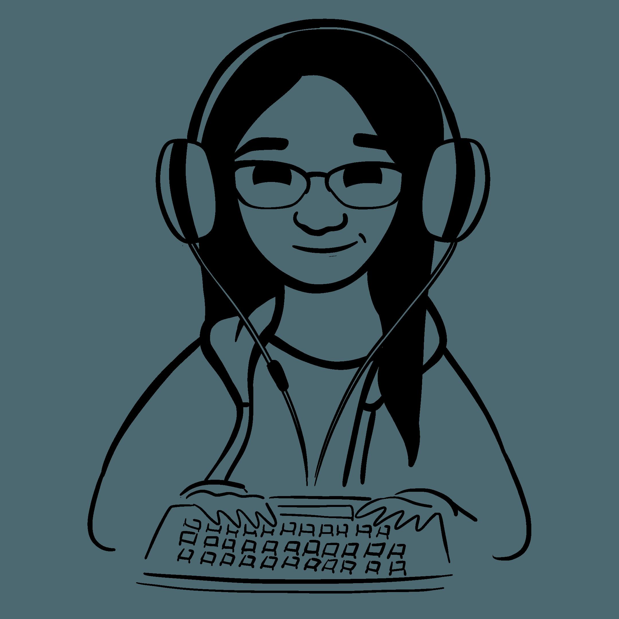 Illustration of Amber Kim