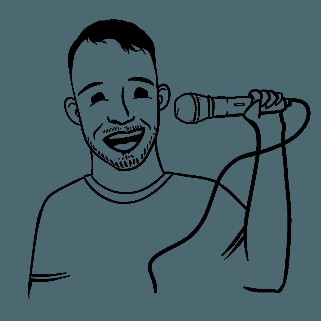 Illustration of Chris Zielinski