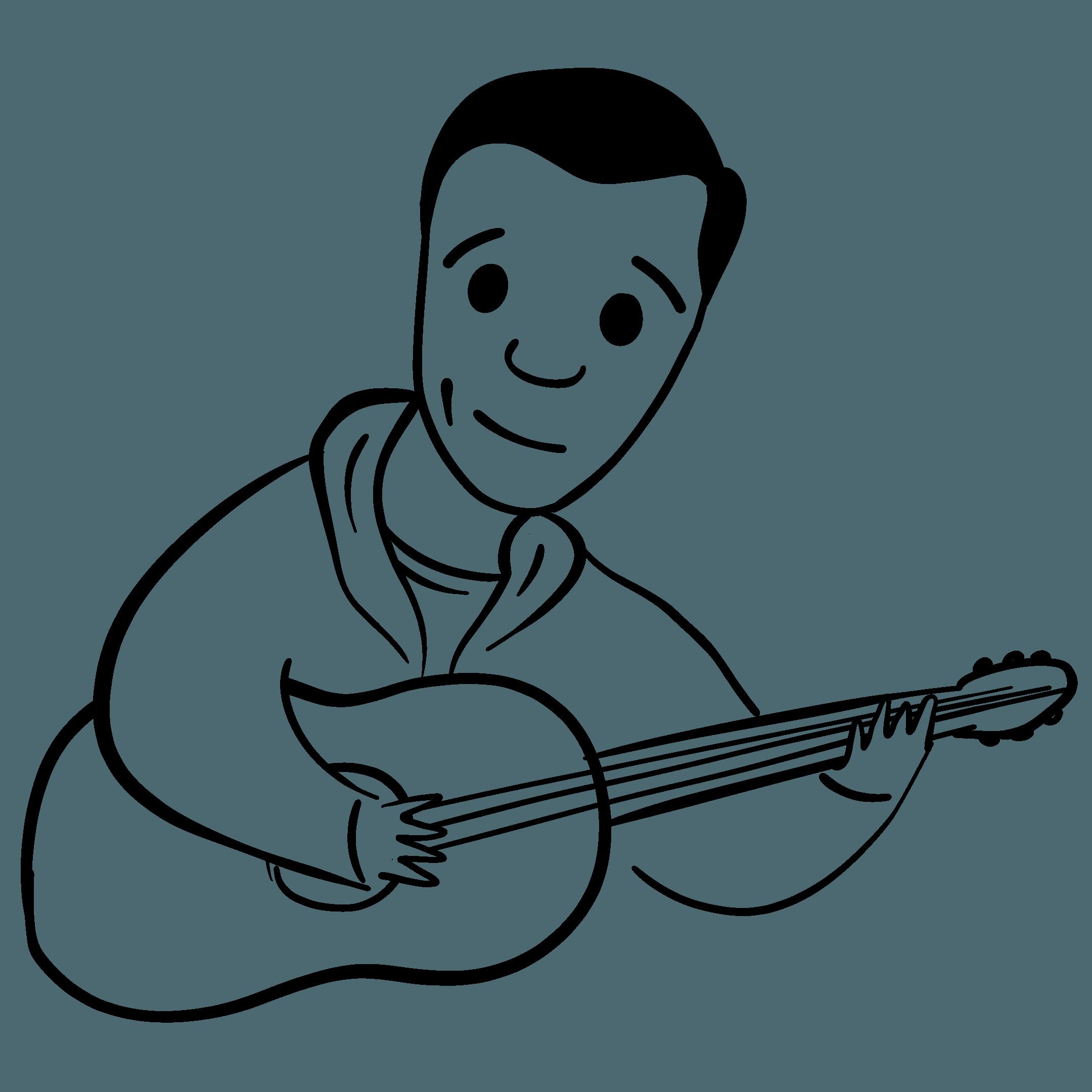 Illustration of Doug Bondor