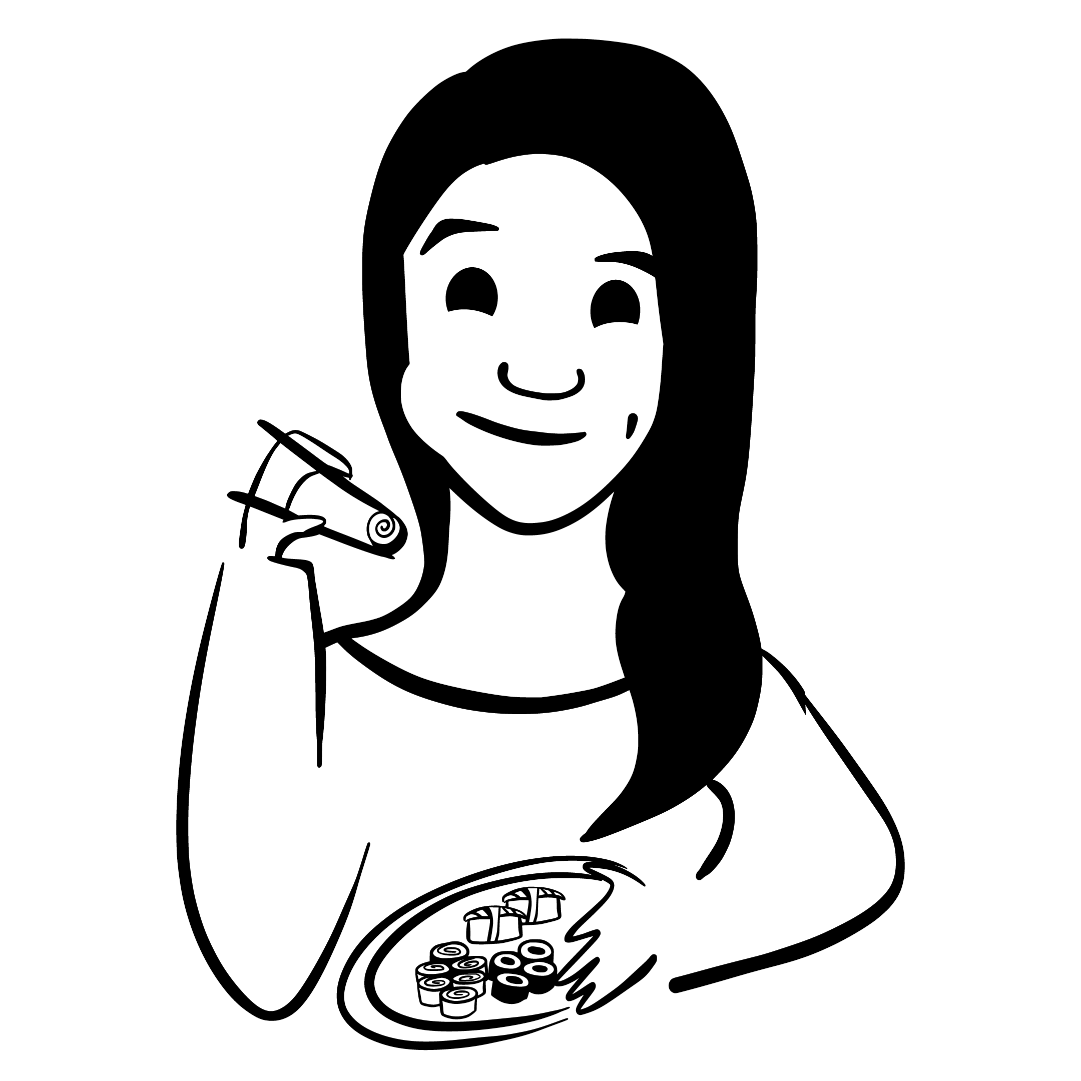 Illustration of Victoria Drake