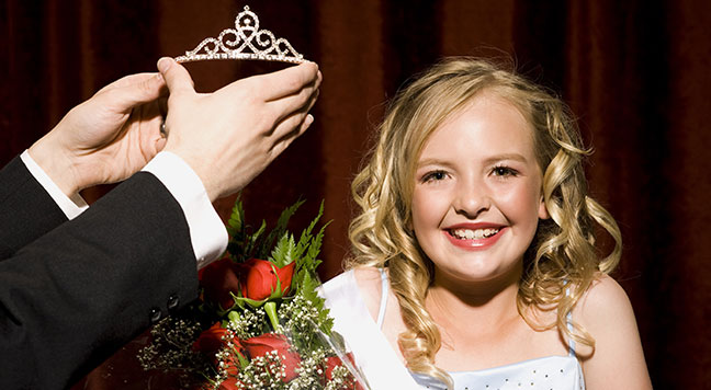Beauty queens with disabilities