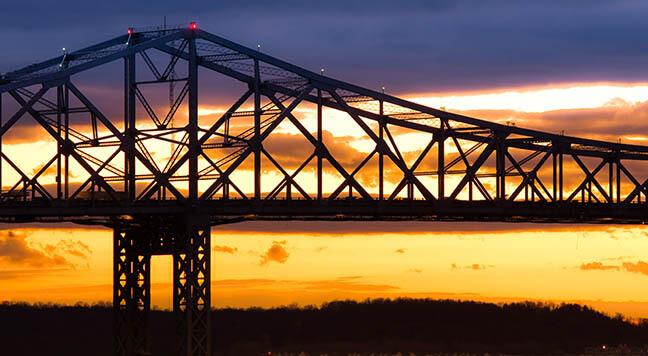 Crane accident Tappan Zee Bridge