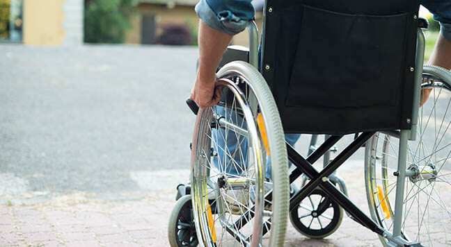 Polling sites inaccessible to disabled