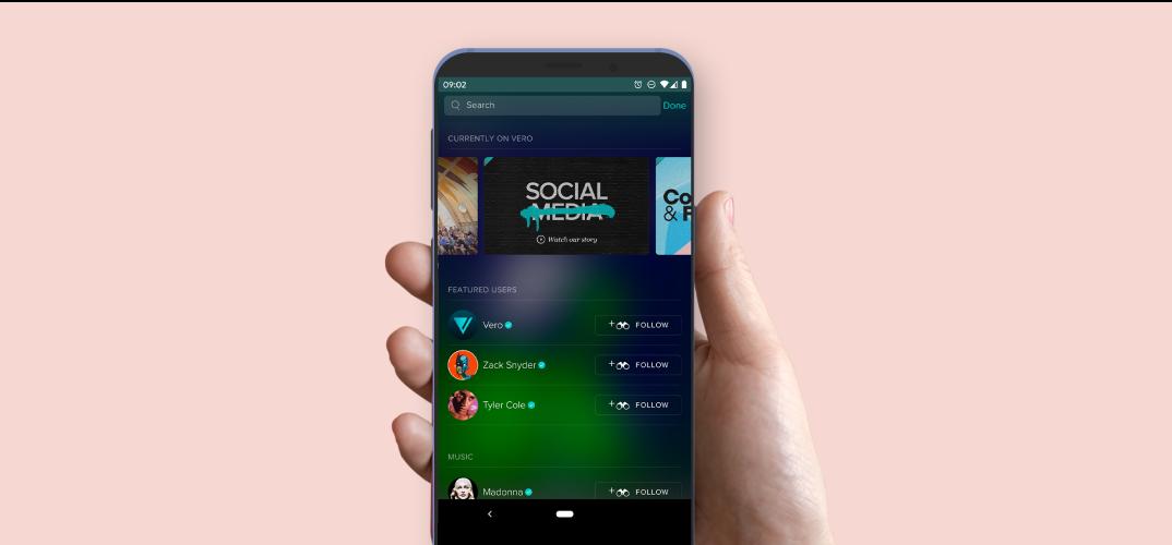 Vero App Screen
